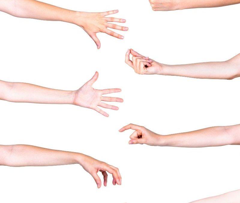 Praten met gebaren