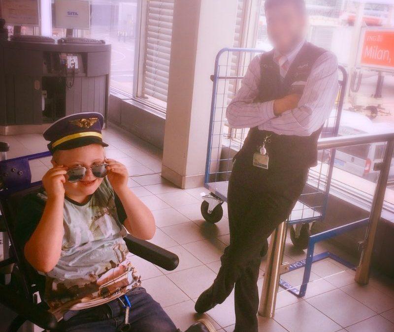 Vliegen met autisme of een andere beperking